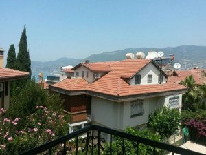 duplex apartment in Alanya Castle is for sale by the first owner